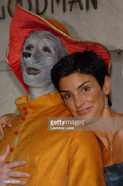 Ingrid Casares during Lotsa de Casha by Madonna Book Launch Party at Bergdorf Goodman in New York June 7 2005 Arrivals at BergdorfGoodman in New York...