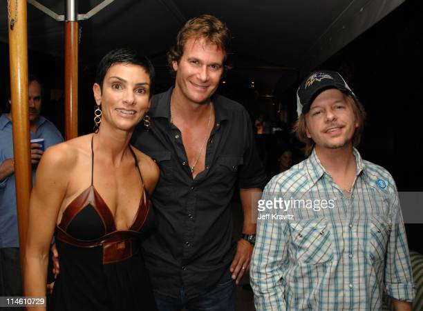 Ingrid Casares Rande Gerber and David Spade *exclusive*