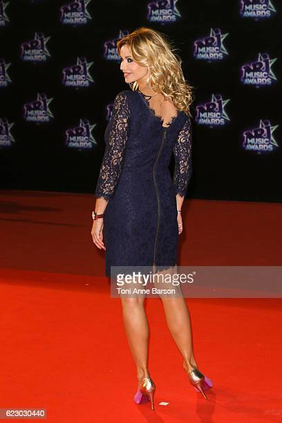 Ingrid Chauvin arrives at the 18th NRJ Music Awards at the Palais des Festivals on November 12 2016 in Cannes France