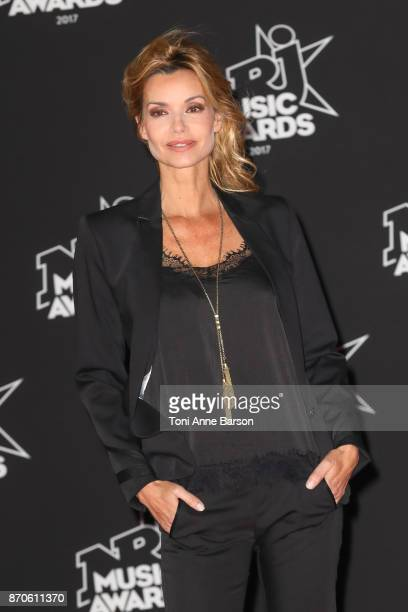 Ingrid Chauvin arrives at the 19th NRJ Music Awards ceremony at the Palais des Festivals on November 4 2017 in Cannes France