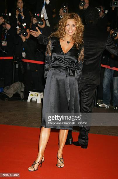 Ingrid Chauvin arrives at the 2007 NRJ Music Awards held in Cannes.