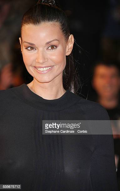 Ingrid Chauvin arrives at the 2008 NRJ Music Awards in Cannes
