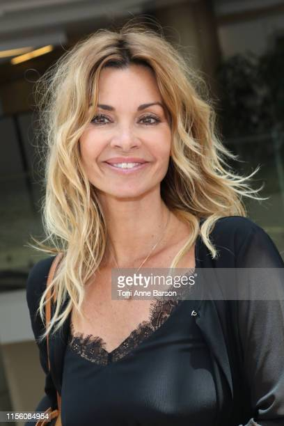 Ingrid Chauvin attends photocall for Demain Nous Appartient during the 59th Monte Carlo TV Festival on June 15 2019 in MonteCarlo Monaco