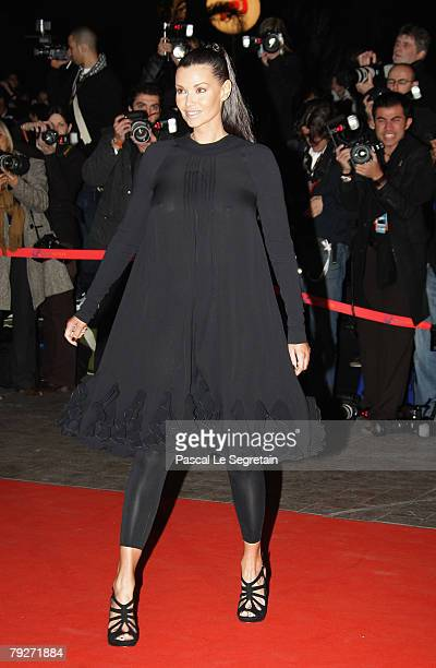 Ingrid Chauvin attends the 2008 NRJ Music Awards on January 26 2008 in Cannes France