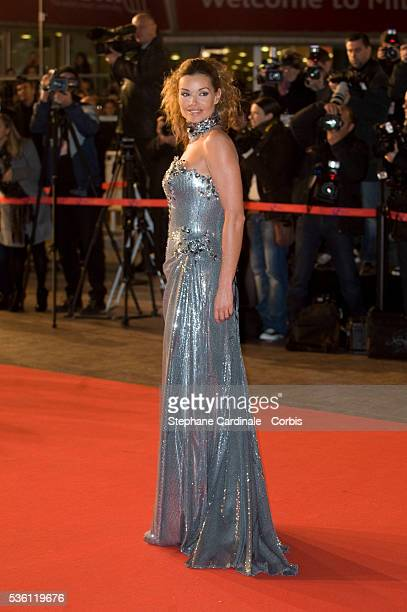 Ingrid Chauvin attends the NRJ Music Awards 2010 at Palais des Festivals in Cannes