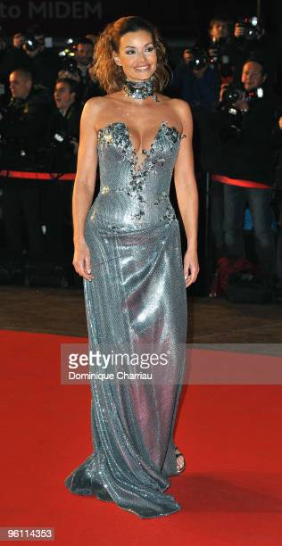 Ingrid Chauvin attends the NRJ Music Awards 2010 at Palais des Festivals on January 23 2010 in Cannes France