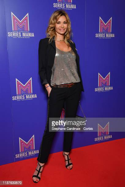 Ingrid Chauvin attends the Opening Ceremony of the 2nd Series Mania Festival In Lille on March 22 2019 in Lille France