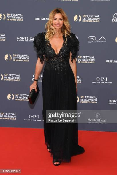 Ingrid Chauvin attends the opening ceremony of the 59th Monte Carlo TV Festival on June 14 2019 in MonteCarlo Monaco
