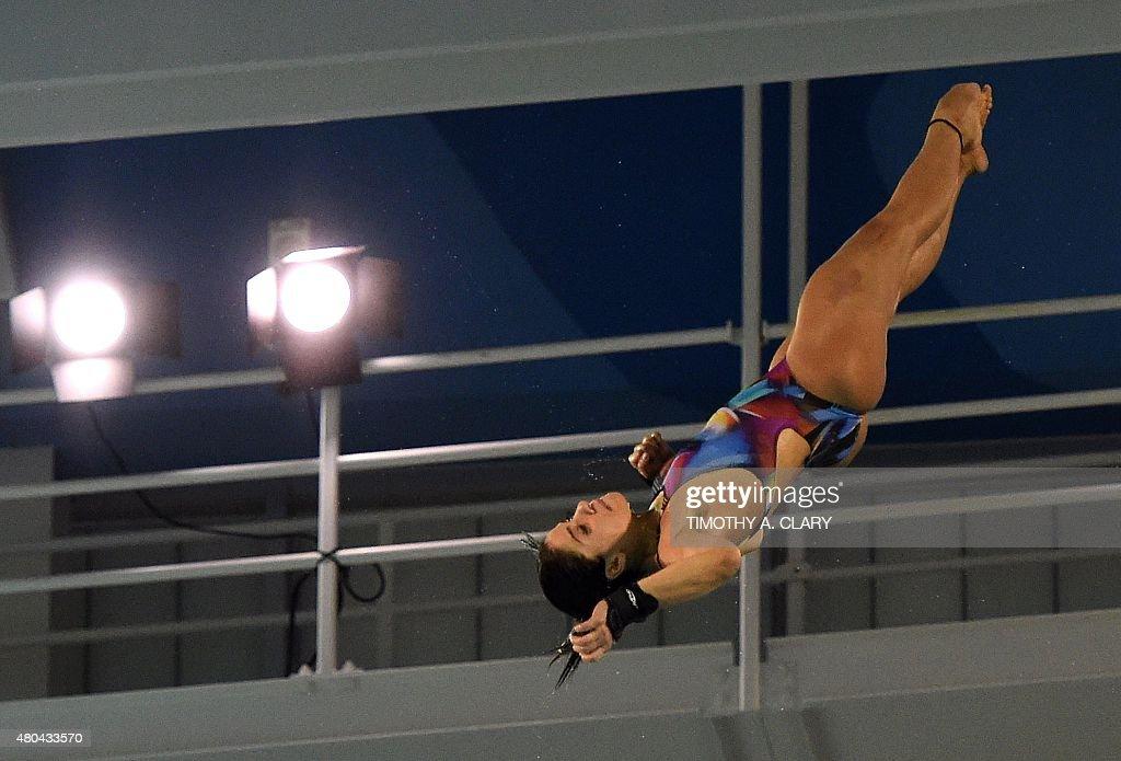 PANAM2015-CANADA-WOMEN-10M-FINAL : News Photo