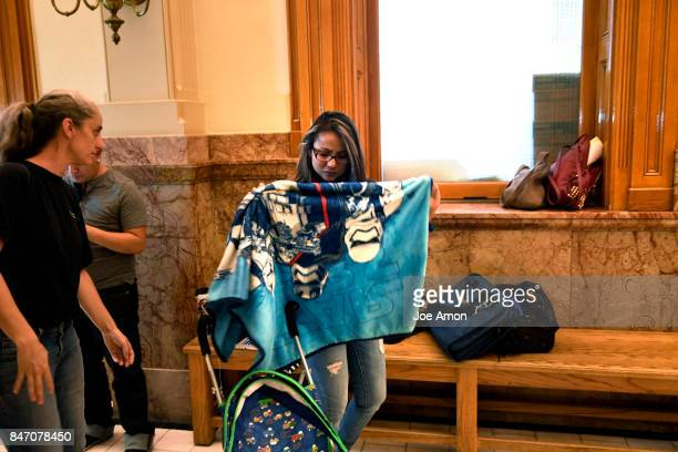 Ingrid Encalada Latorre gathering her belongings after learning that Gov John Hickenlooper denied her pardon request and will now have to leave the...