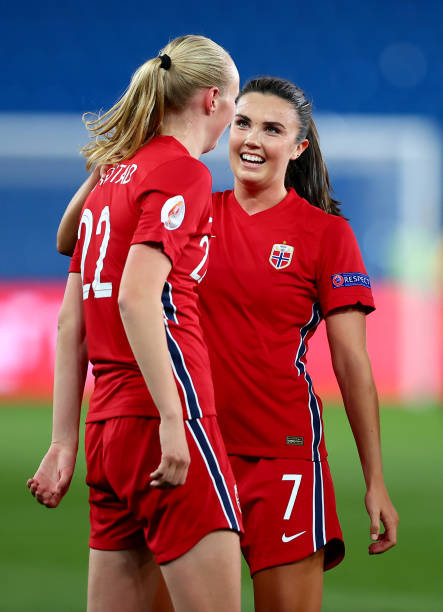 NOR: Norway v Armenia: Group F - FIFA Women's World Cup 2023 Qualifier