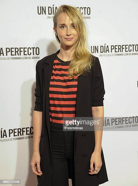 Ingrid Garcia Jonsson attends the 'A Perfect Day' Premiere at Palafox Cinema on August 25 2015 in Madrid Spain