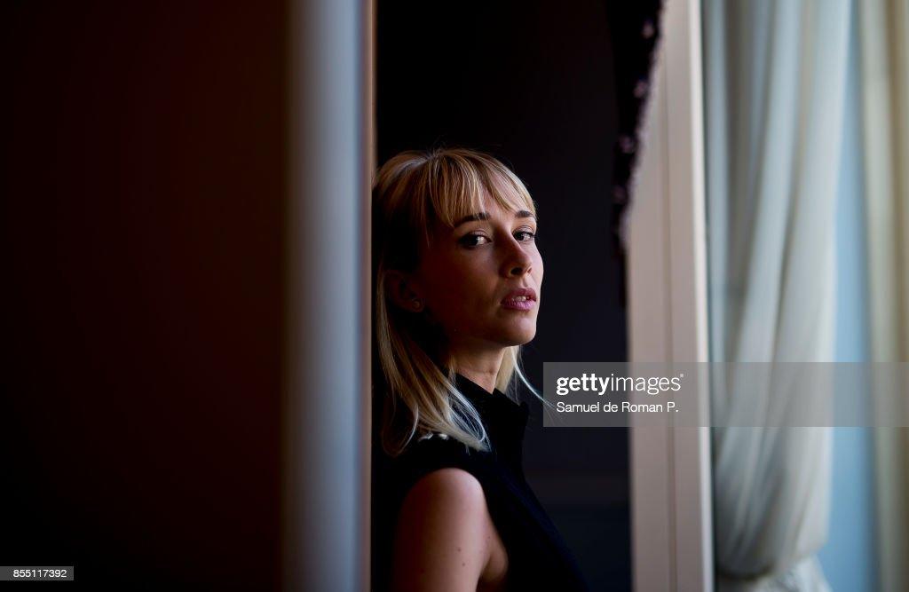 Ingrid Garcia-Jonsson poses for a portrait session during 65th San Sebastian Film Festival on September 24, 2017 in San Sebastian, Spain.