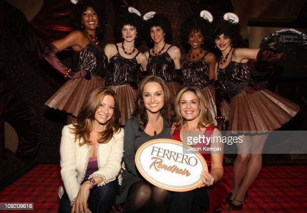 Ingrid Hoffmann Giada De Laurentiis and Cat Cora attend the Ferrero SWEET Event at 'The Waterfront' on November 16 2007 in New York City