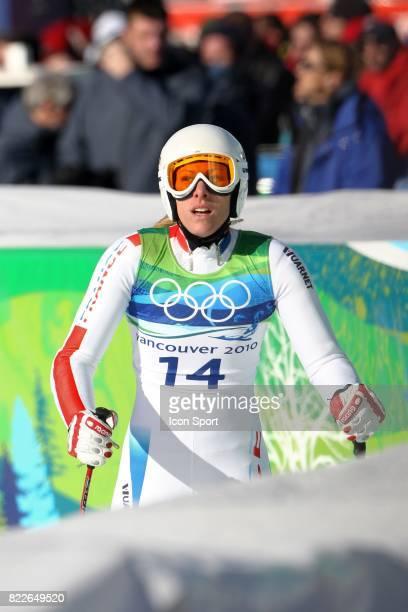 Ingrid Jacquemod Super G Jeux Olympiques de Vancouver
