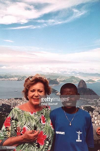 Ingrid Kreuder , brasilianischer Junge, Einheimischer, Urlaub, über Rio de Janeiro, Brasilien, Küste, Meer, Südamerika, lächeln, MW/