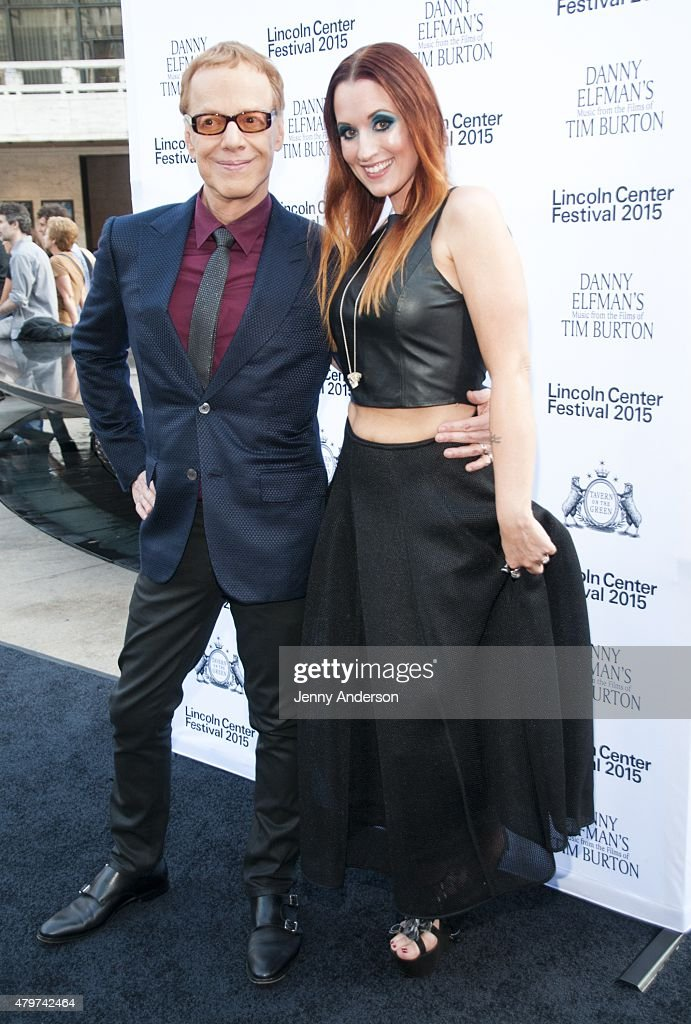 """Lincoln Center Festival's Opening Night Performance Of """"Danny Elfman's Music From the Films of Tim Burton"""" : News Photo"""