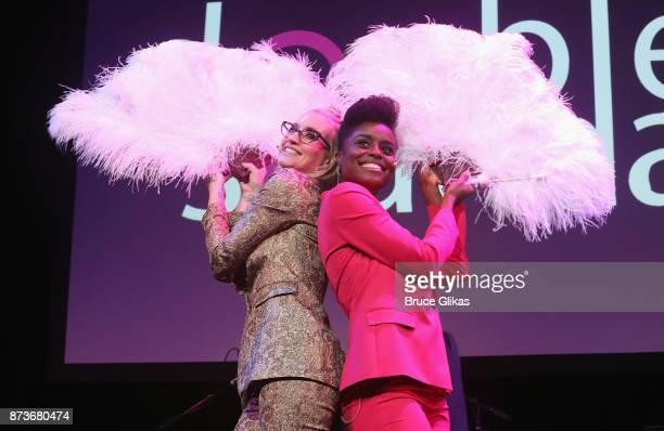 Ingrid Michaelson and Denee Benton perform in 'Double Standards' a concert benefitting womans rights heath and empowerment funding the ACLU National...