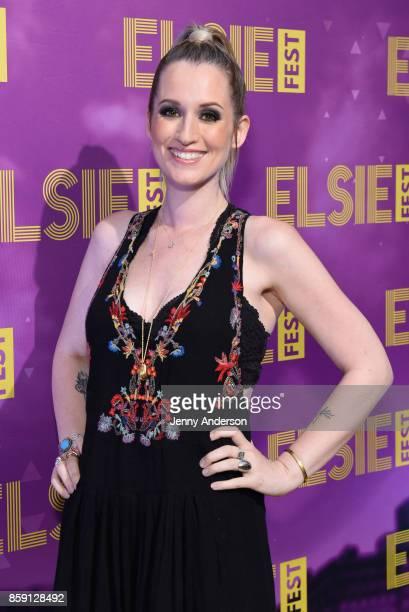 Ingrid Michaelson attends Elsie Fest at Central Park SummerStage on October 8 2017 in New York City