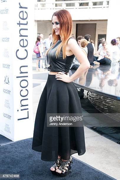"Ingrid Michaelson attends Lincoln Center Festival's opening night performance of ""Danny Elfman's Music From the Films of Tim Burton"" on July 6, 2015..."