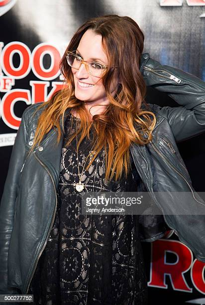 Ingrid Michaelson attends School Of Rock Broadway opening night at Winter Garden Theatre on December 6 2015 in New York City