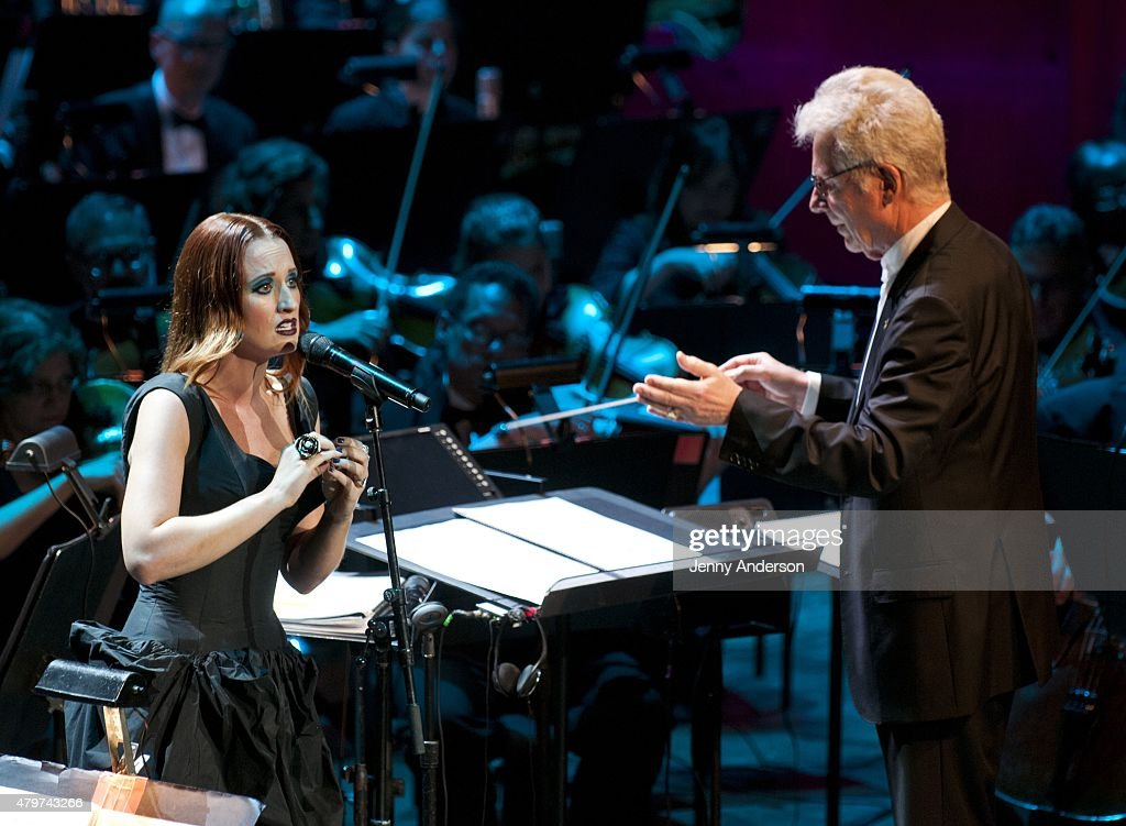 "Lincoln Center Festival's Opening Night Performance Of ""Danny Elfman's Music From the Films of Tim Burton"" : News Photo"