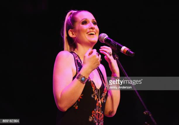 Ingrid Michaelson performs onstage during Elsie Fest at Central Park SummerStage on October 8 2017 in New York City