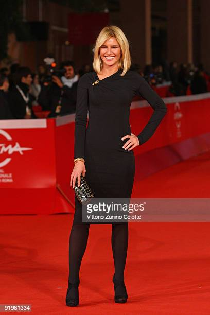 Ingrid Muccitelli attends 'The Imaginarium Of Doctor Parnassus' Premiere during day 4 of the 4th Rome International Film Festival held at the...