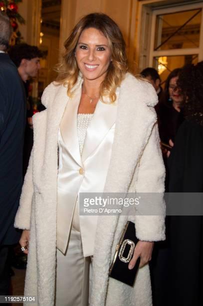 "Ingrid Muccitelli attends the ""Prima Alla Scala"" at Teatro Alla Scala on December 07, 2019 in Milan, Italy."
