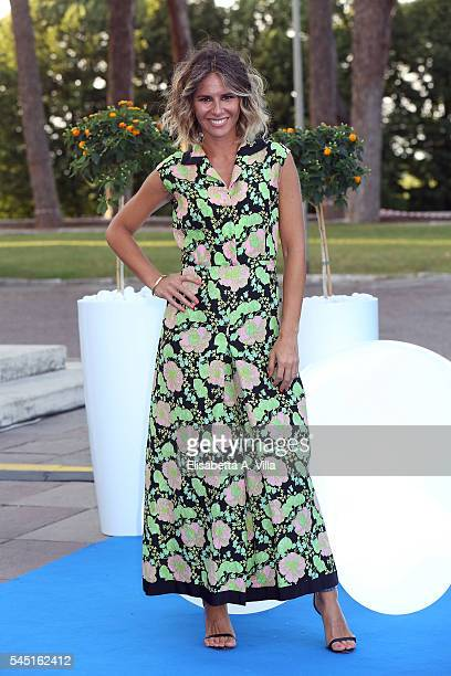 Ingrid Muccitelli attends the Rai Show Schedule Presentation at Salone Delle Fontane on July 5 2016 in Rome Italy