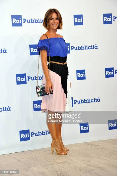 Ingrid Muccitelli attends the Rai Show Schedule Presentation In Rome on July 4 2017 in Rome Italy