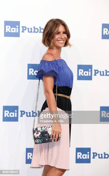 Ingrid Muccitelli attends the Rai Show Schedule Presentation In Rome on July 4, 2017 in Rome, Italy.