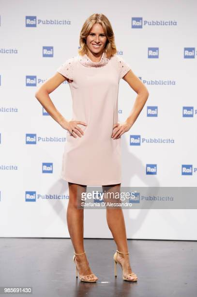 Ingrid Muccitelli attends the Rai Show Schedule presentation on June 27, 2018 in Milan, Italy.