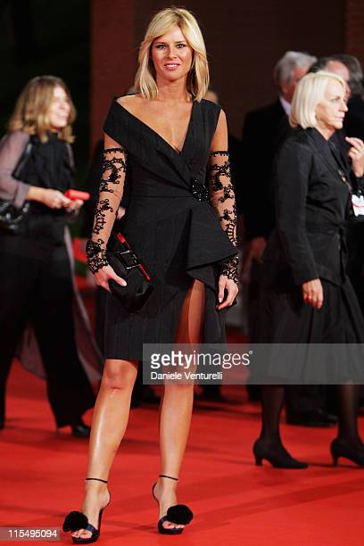 Ingrid Muccitelli attends the Triage Premiere during Day 1 of the 4th Rome International Film Festival held at the Auditorium Parco della Musica on...
