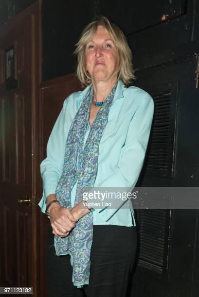 Ingrid Newkirk attends Alan Cumming hosts a birthday bash for PETA President Ingrid Newkirk on June 10 2018 in New York City