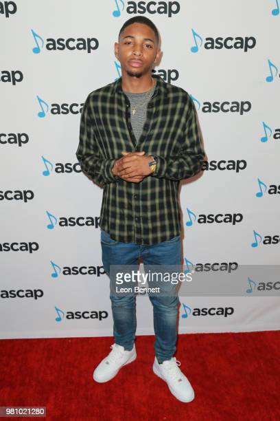 Ingrid Nicole Burley attends the 2018 ASCAP Rhythm Soul Music Awards at the Beverly Wilshire Four Seasons Hotel on June 21 2018 in Beverly Hills...