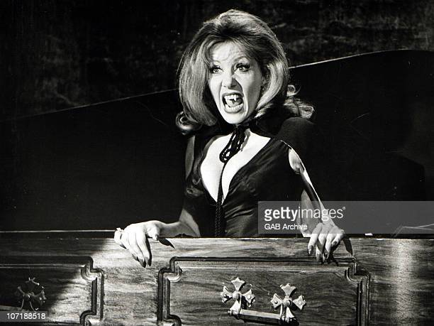 Ingrid Pitt in a still from the Hammer Horror film 'The House That Dripped Blood' in 1971 in the United Kingdom