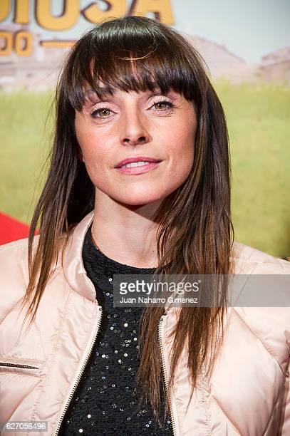 Ingrid Rubio attends 'Villaviciosa De Al Lado' premiere at Capitol Cinema on December 1 2016 in Madrid Spain