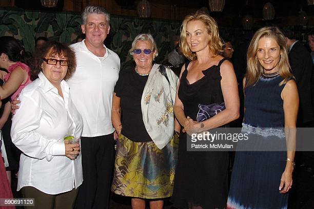 Ingrid Sischy John Lyons Ann Roth Jessica Lange and Sandy Brant attend INTERVIEW MAGAZINE afterparty for the NY Premiere of BROKEN FLOWERS a Film by...