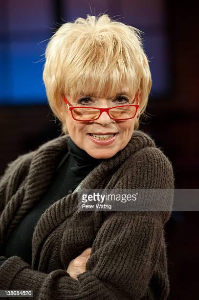 Ingrid Steeger attends 'Koelner Treff' TV Show on February 10 2012 in Cologne Germany