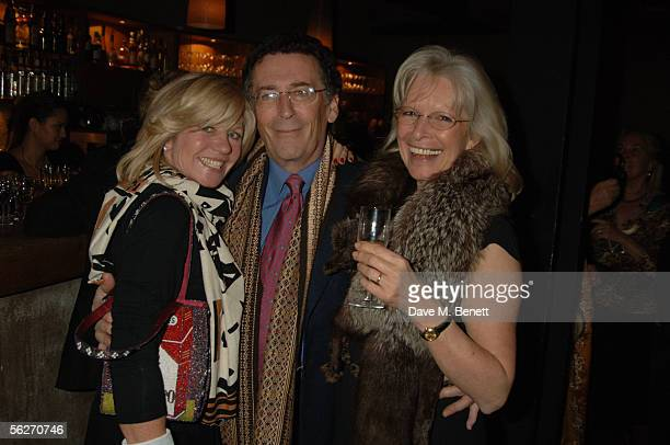 Ingrid Stewart Robert Powell and Babs Powell attend the Why Not Charity Auction an evening for The Aegis Trust Kimironko Orphan Village Project at...