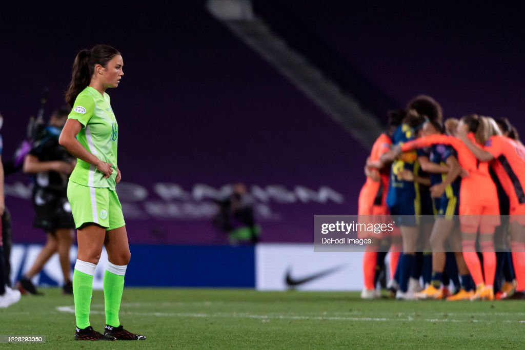 VfL Wolfsburg Women's v Olympique Lyonnais - UEFA Women's Champions League Final : News Photo