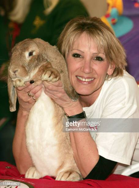 Ingrid Tarrant during Rabbit Welfare Fund Launches Easter at Hamleys April 4 2007 at Hamleys in London Great Britain