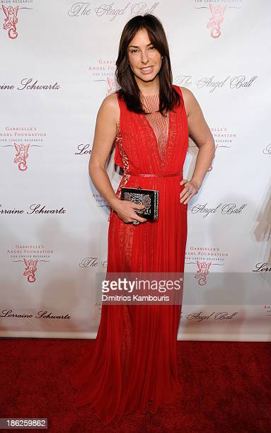 Ingrid Vandebosch attends Gabrielle's Angel Foundation Hosts Angel Ball 2013 at Cipriani Wall Street on October 29 2013 in New York City