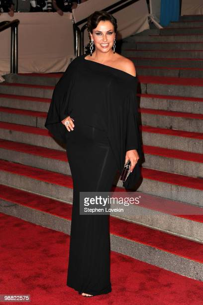 Ingrid Vandebosch attends the Costume Institute Gala Benefit to celebrate the opening of the American Woman Fashioning a National Identity exhibition...