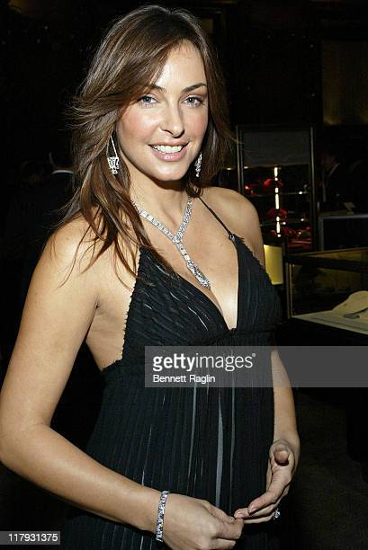 Ingrid Vandebosch during Nascar Nextel Cup Celebrities Make Pit Stop on Fifth Ave at Tiffany Co in New York November 30 2006 in New York City New...