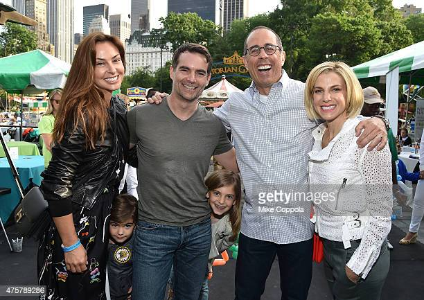 Ingrid Vandebosch Jeff Gordon Leo Benjamin Gordon Ella Sofia Gordon Jeff Gordon Event Host Jerry Seinfeld Baby Buggy Founder and Event Host Jessica...
