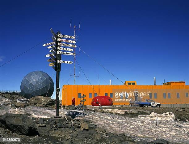 Australische Forschungsstation Davis 1999forschung forschungseinrichtung station polarforschungaustralien polarforschungsstation