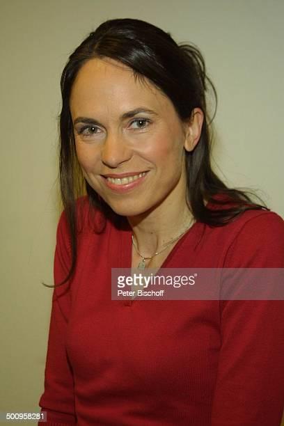 """Ingrid-Marie Einfeldt, Portrait, SAT1-Sendung """"Markus M. Profitlich will Fußball gucken"""", , Porträt, Komödiantin Promi, P.-Nr.: 464/2004, NT; Foto:..."""