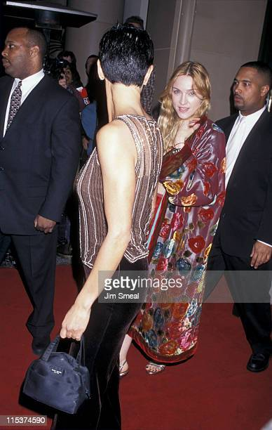 Ingris Casares and Madonna during 1998 Miramax Films PreOscar Party Hosted By Harvey Weinstein at Beverly Wilshire Hotel in Beverly Hills California...